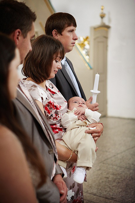 reportaż z ceremonii Chrztu Świętego