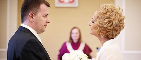 Reportaż ze ślubu cywilnego